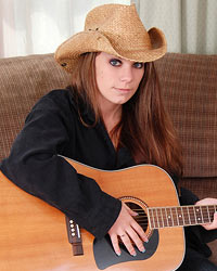 A Cowboy Hat A Guitar And A Sexy Lookin Devon Shes Such A Cutie - Picture 2
