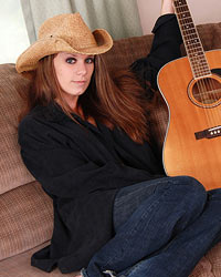 A Cowboy Hat A Guitar And A Sexy Lookin Devon Shes Such A Cutie - Picture 3