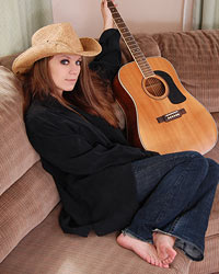 A Cowboy Hat A Guitar And A Sexy Lookin Devon Shes Such A Cutie - Picture 4